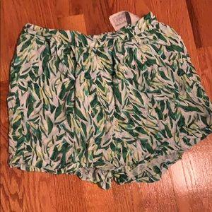 Beautiful Green Girls Shorts